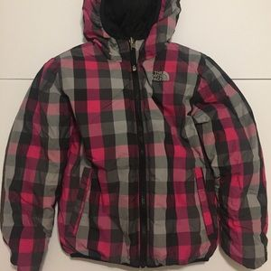 North Face Down Jacket Youth Girls Size Small 7/8
